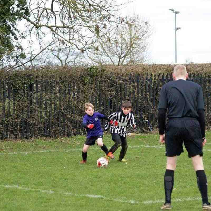 HUFC 'v' Moulton Magpies