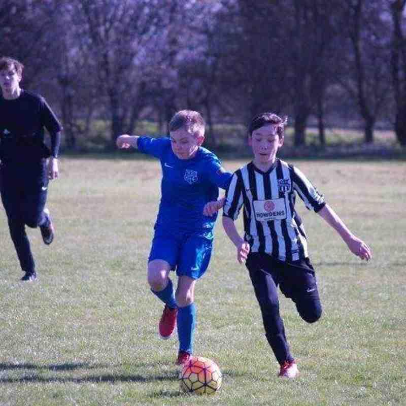 Heyford 'v' HUFC U12