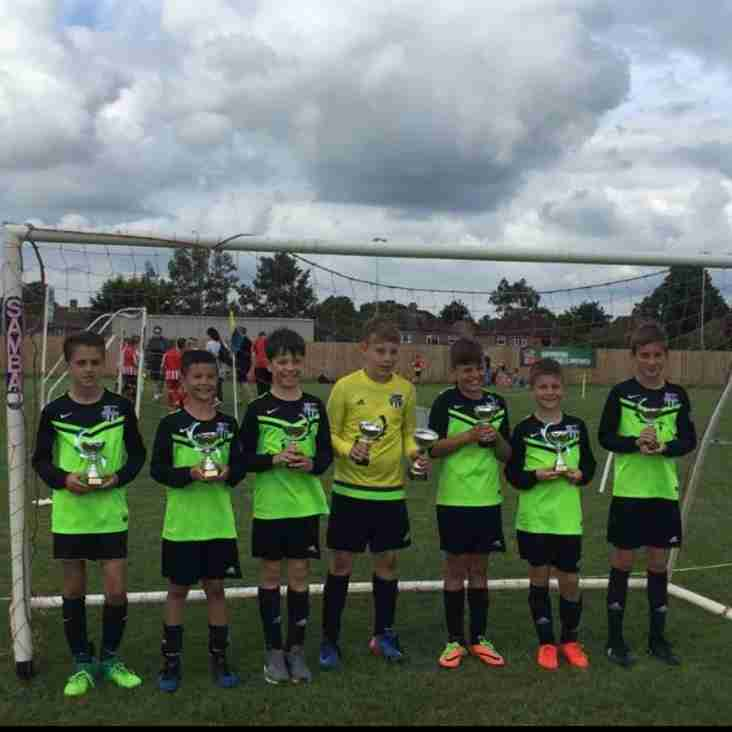 HUFC UNDER 11'S WIN ANOTHER TOURNAMENT!!