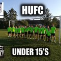 HUFC - UNDER 15 lose to Tattenhoe Youth Tigers 3 - 0