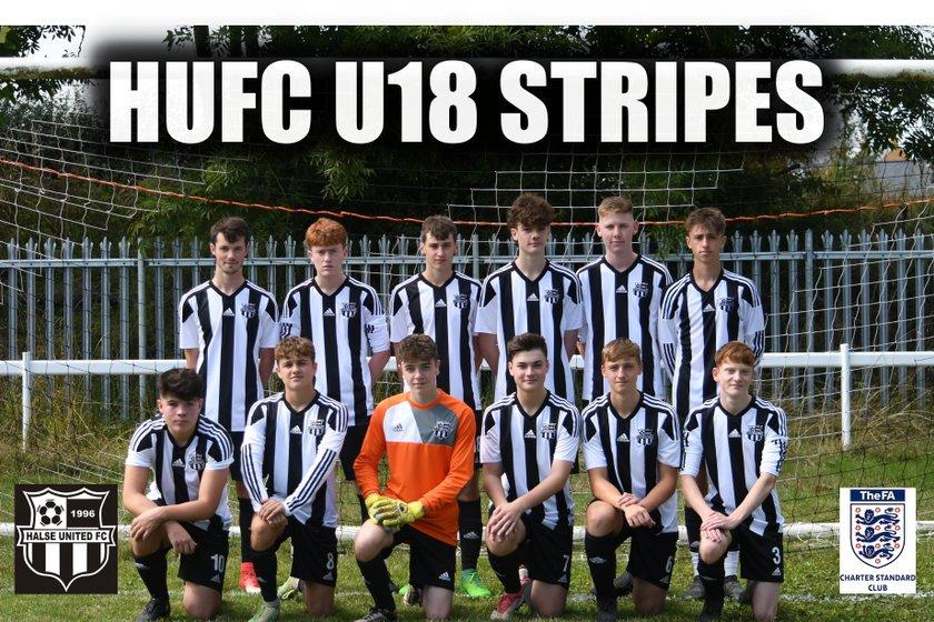 HUFC - UNDER 18 STRIPES beat Wallingford Town AFC U19 1 - 3