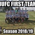 HUFC - FIRST TEAM  beat Charlton Athletic FC 0 - 4