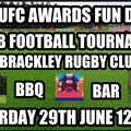 HUFC AWARDS FUN DAY!