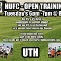 OPEN TRAINING SESSIONS AVAILABLE!
