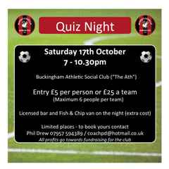 QUIZ NIGHT - FUNDRAISER