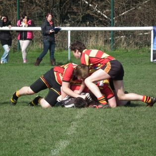 Brighouse Rangers U17s 34 pts, Greetland Rangers U17s 40 pts.