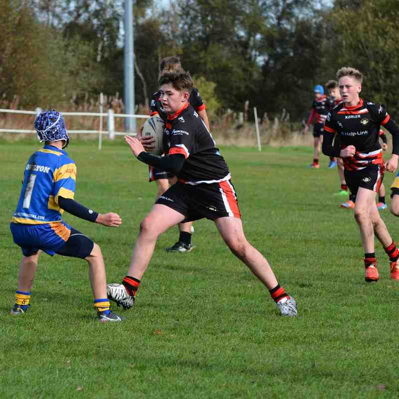 Greetland Allrounders u14 v Oulton Raiders