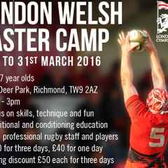 Easter Rugby Camp for 7 to 17 year olds @ ODP