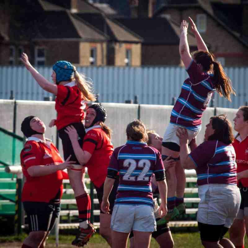 Old Deer Park Rugby Club: London Welsh Women Vs Wimbledon Ladies