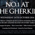 Gethin Jenkins Testimonial Year 16-17 @ No1 The Gherkin Wed 26th Oct 16