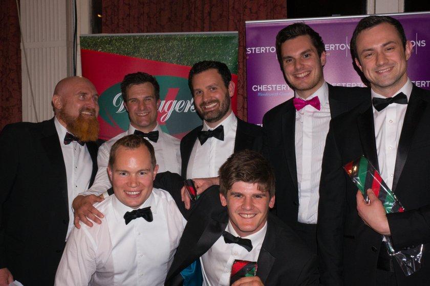 London Welsh black tie end of season awards dinner