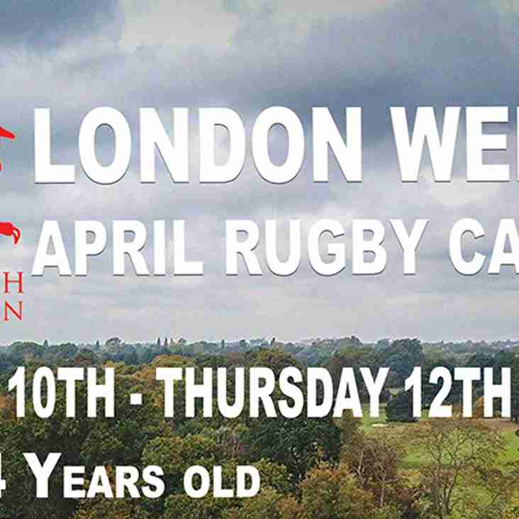 Easter Rugby Camps At London Welsh