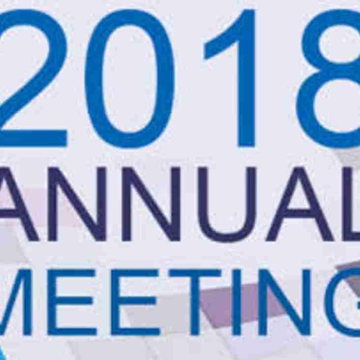 Club Annual Membership Meeting