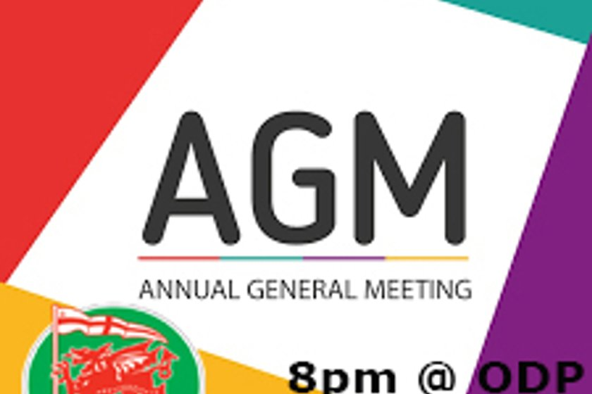 Supporters Club AGM Wed 22nd Aug 8pm
