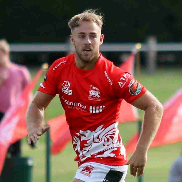 RHYS HOWELLS LONDON WELSH SUPPORTERS OCT CLUB PLAYER OF THE MONTH