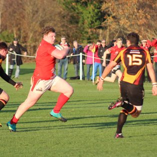 1st XV Organised and Controlled Win