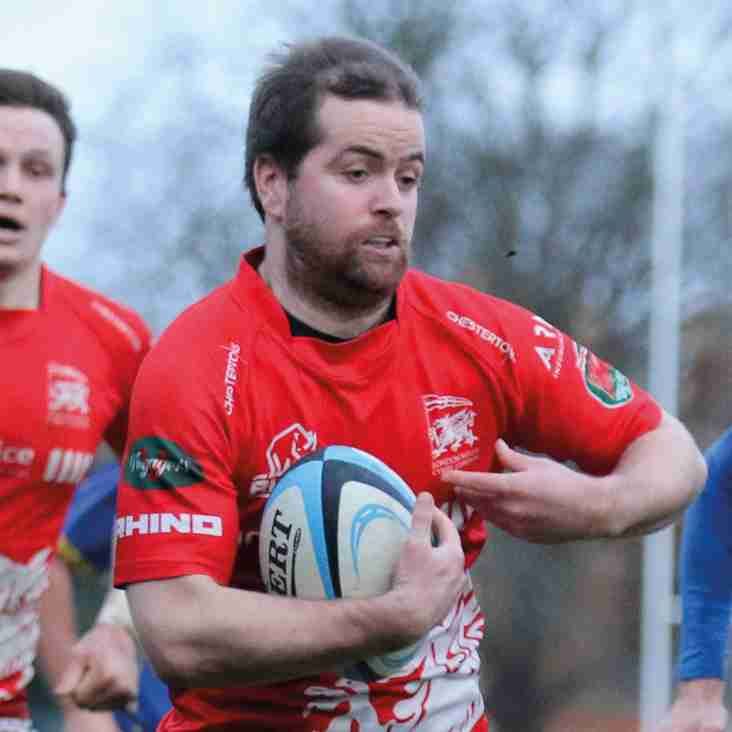RHODRI DAWES IS LONDON WELSH SUPPORTERS CLUB PLAYER OF THE MONTH