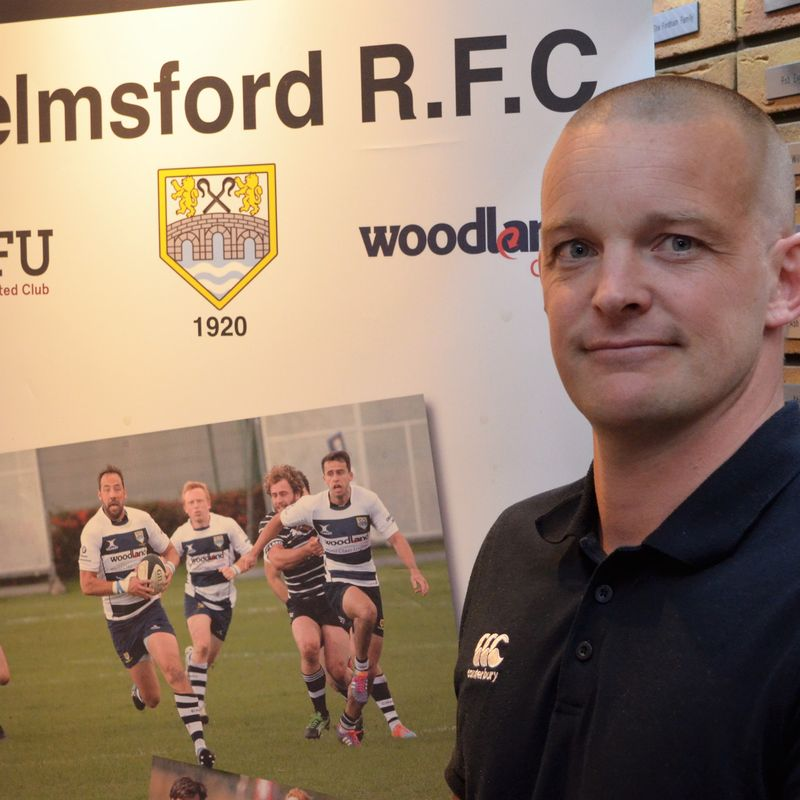 Chelmsford RFC introduce the New Director of Rugby & Head Coach