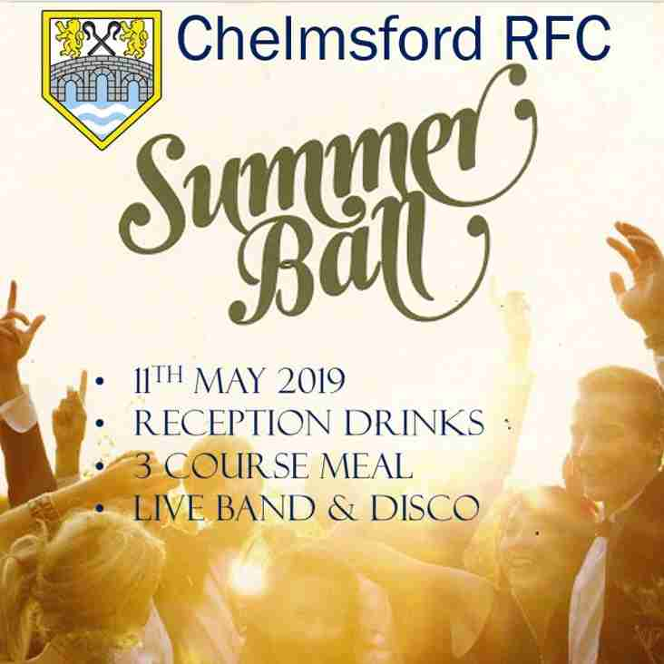 Chelmsford RFC - Summer Ball