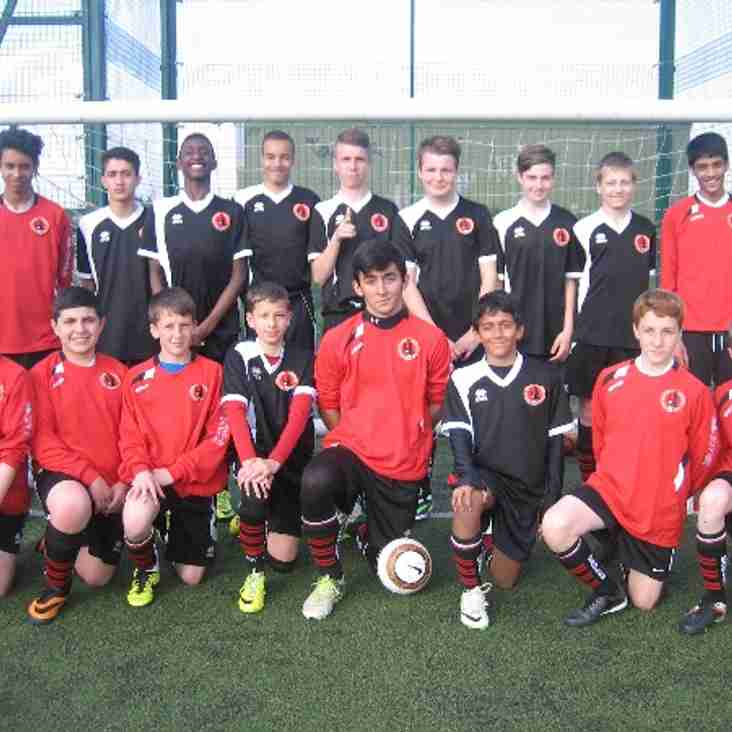Eagles u14s do it again.