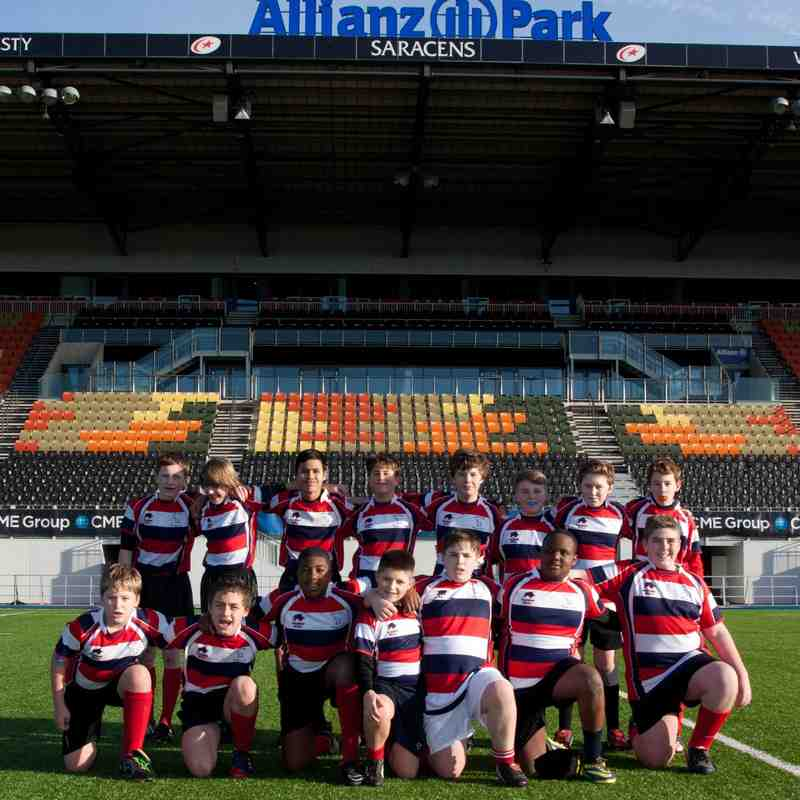 U13's v Kilburn at Allianz Park