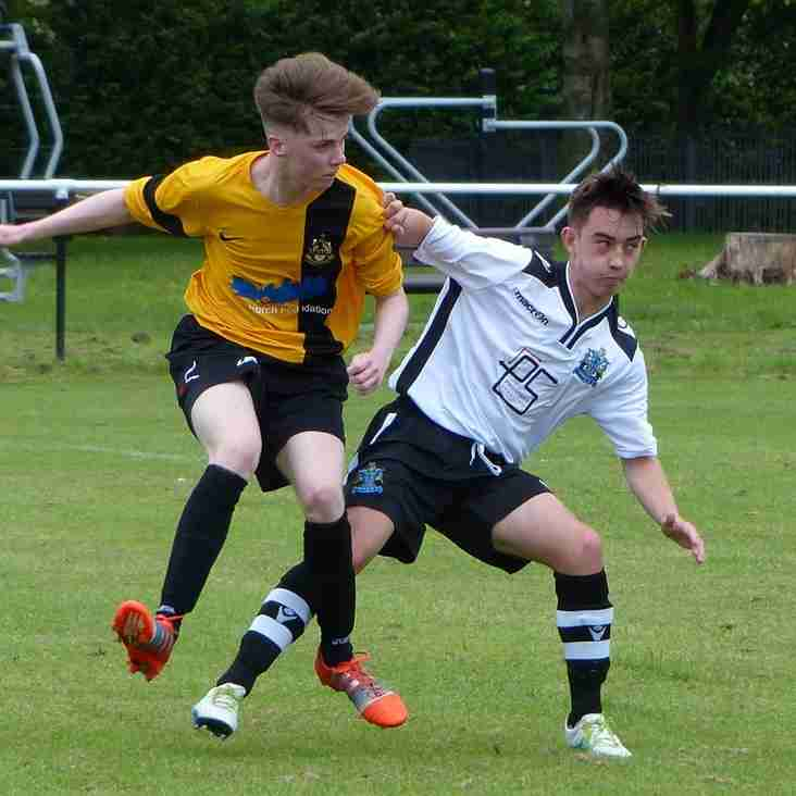 MARINE AFC YOUTH V SOUTHPORT FC YOUTH MATCH DAY PHOTOS