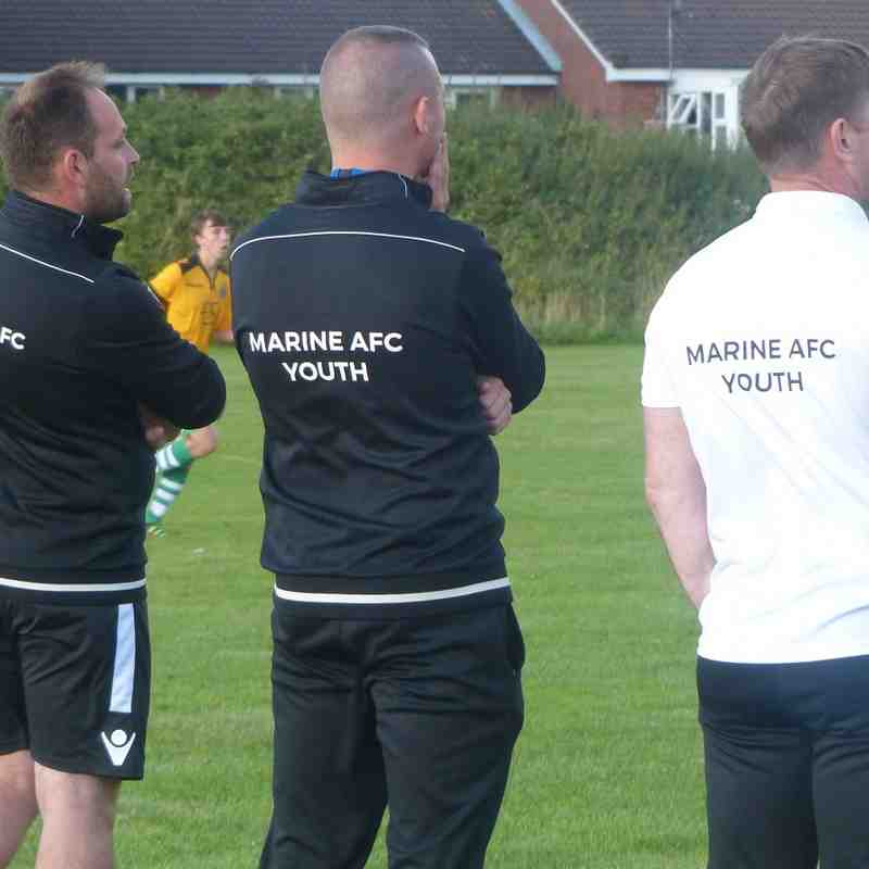 Marine AFC Youth v Maghull Youth 04/08/16