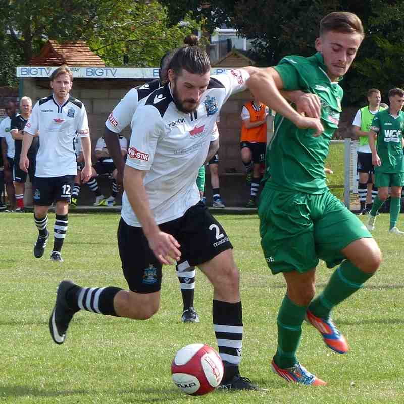 Burscough FC v Marine AFC (friendly) 06/08/16