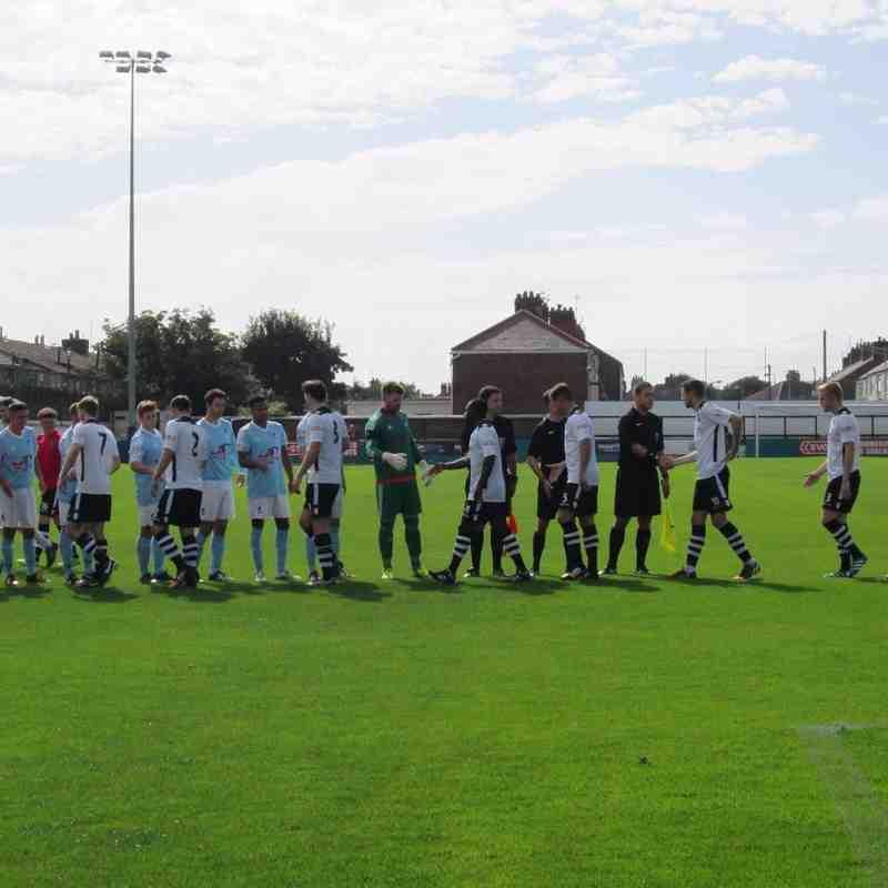 Cameron's Marine v Coalville match day photos
