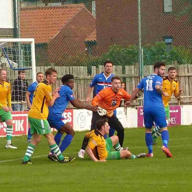 WHITBY TOWN V MARINE AFC MATCH DAY PHOTOS