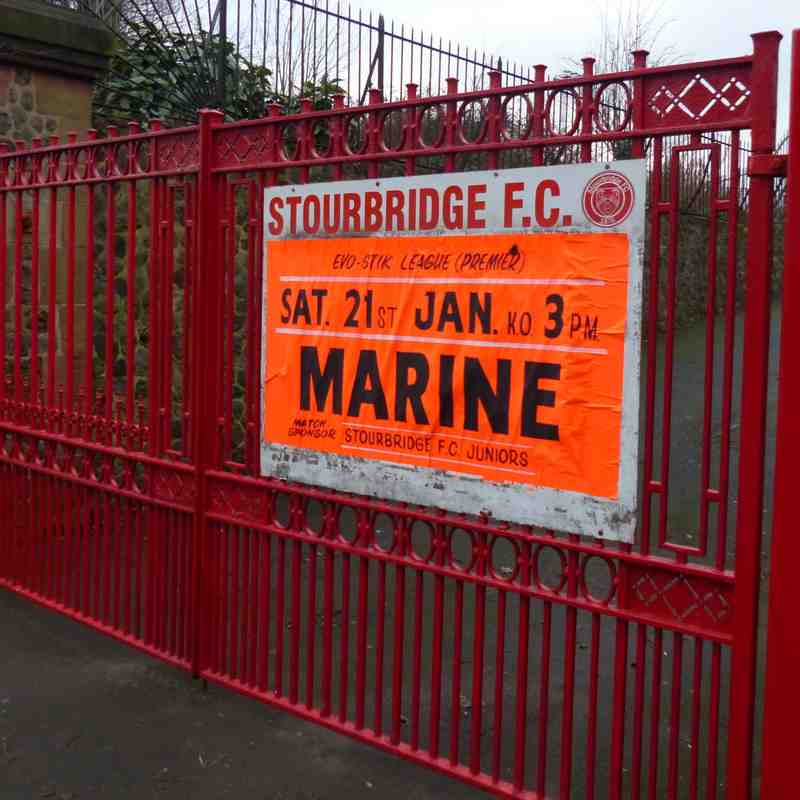 Stourbridge v Marine 21/01/17