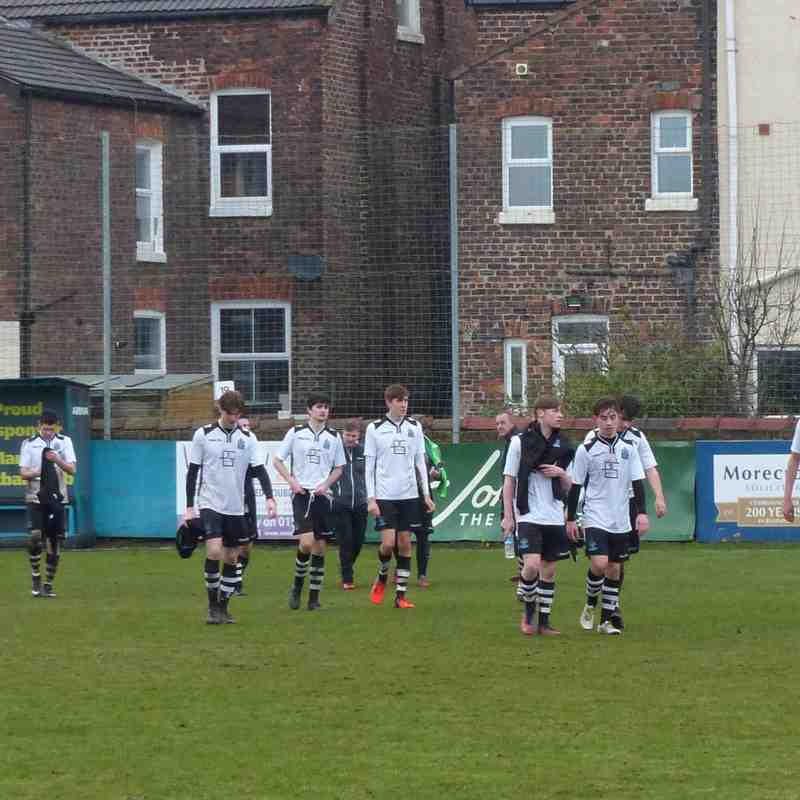 Marine AFC Youth v West Kirby 12/03/17