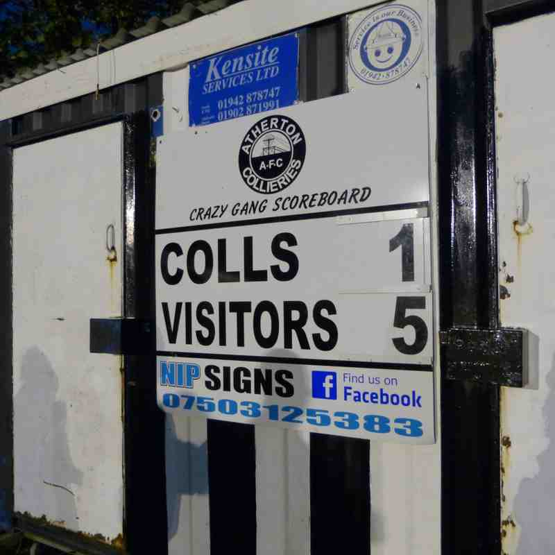 Atherton Collieries v Marine FA Trophy 11/11/17
