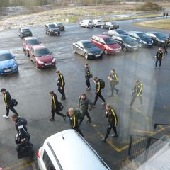 Coach gate Hednesford v Marine 17/03/18
