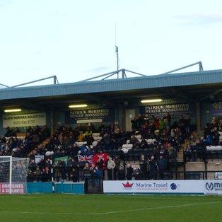 Marine 0-2 Warrington Town