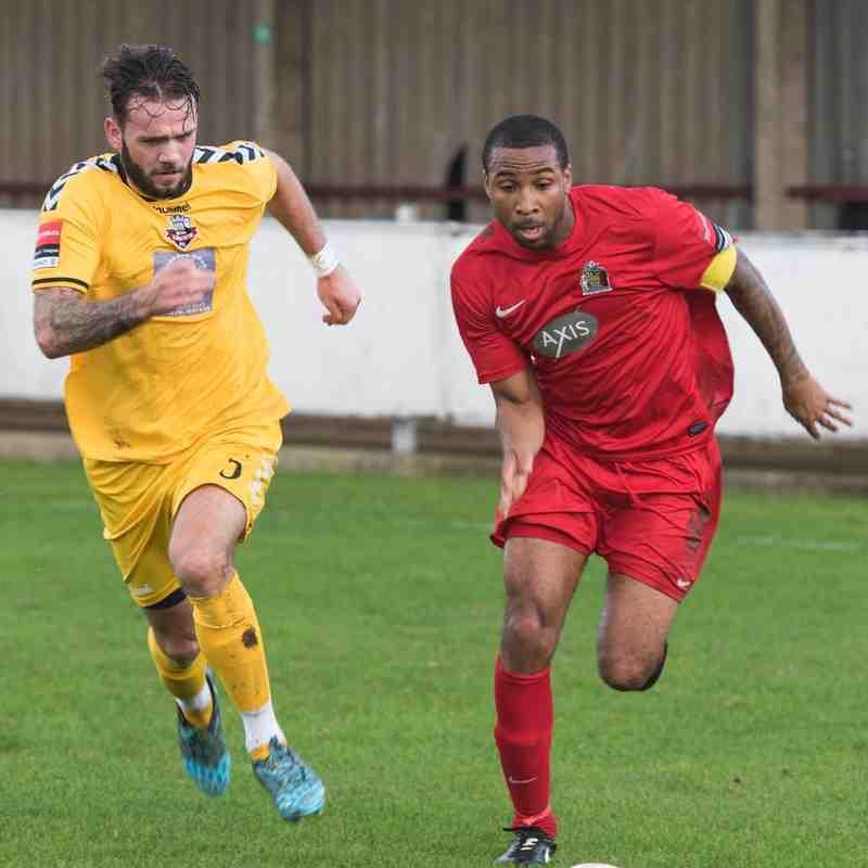 HARROW BOROUGH v Lewes FC, 7th November 2015