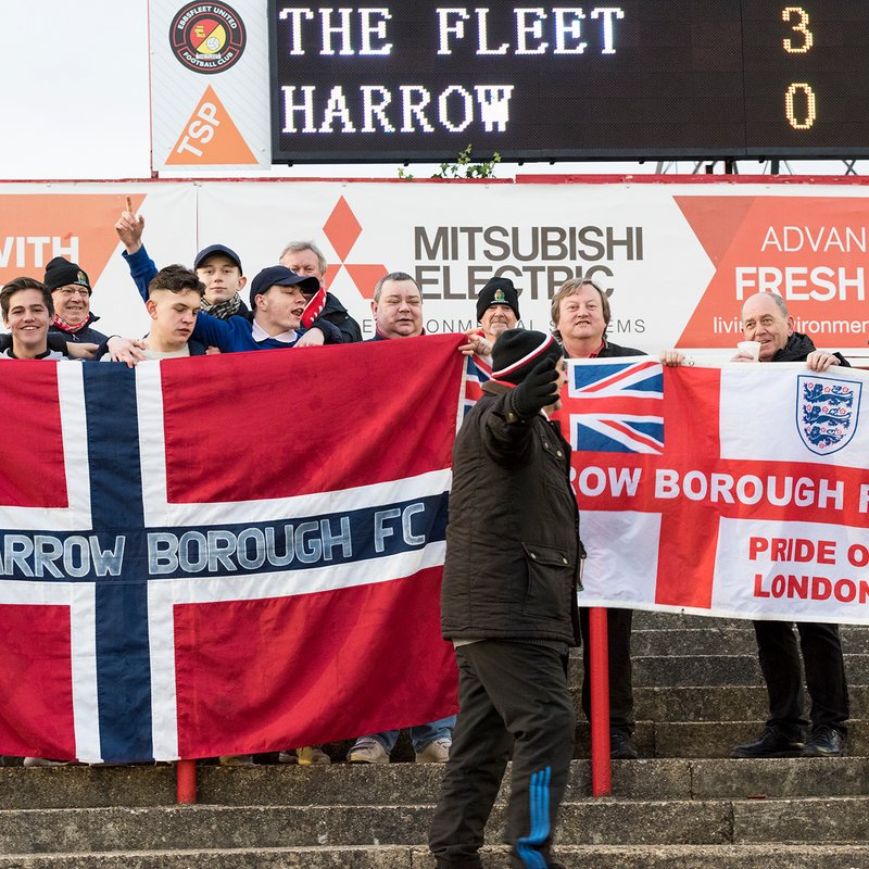 Ebbsfleet United v HARROW BOROUGH, Saturday 26th November 2016