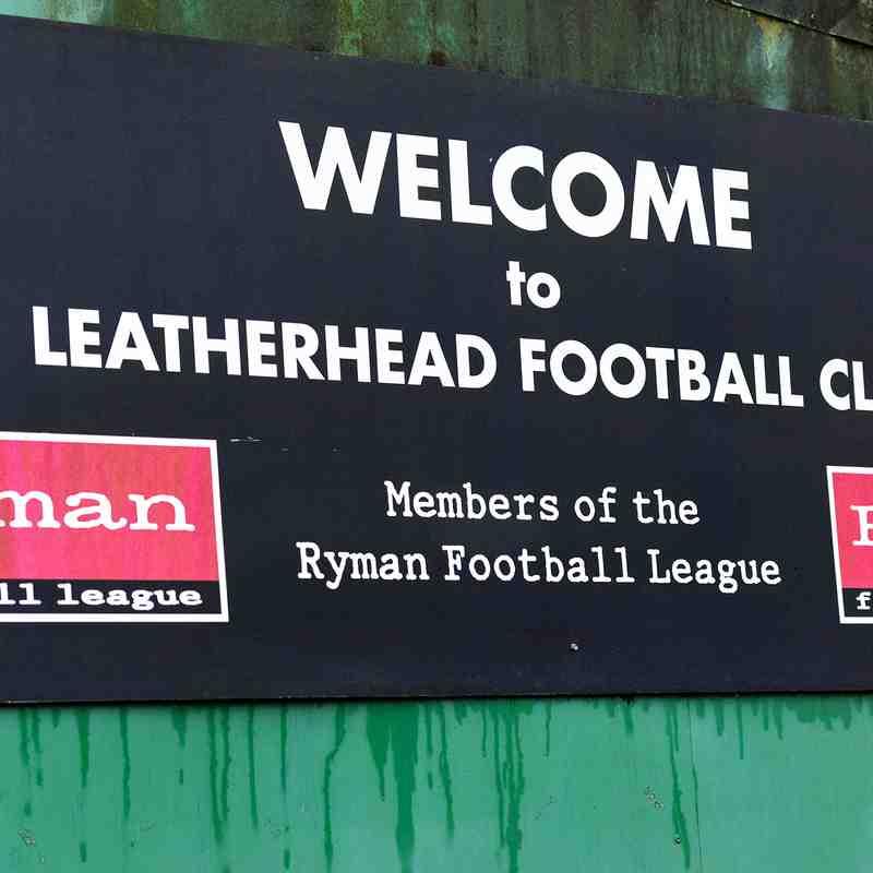 Leatherhead v HARROW BOROUGH, Saturday 7th January 2017