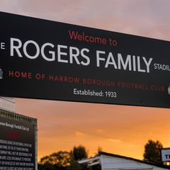HARROW BOROUGH v Haringey Borough, Saturday 28th October 2017