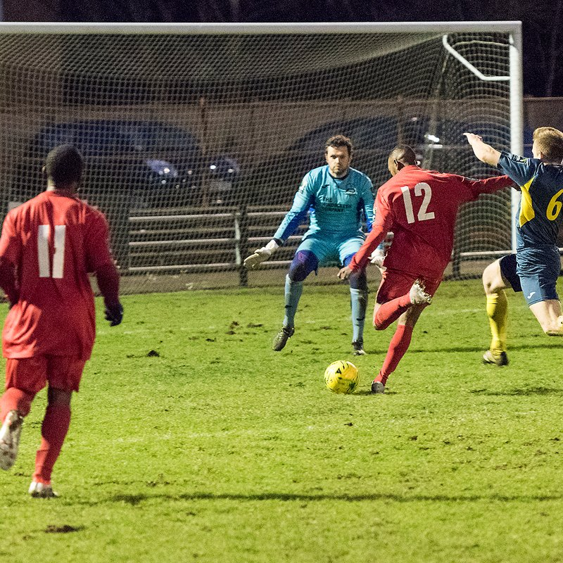 HARROW BOROUGH v Needham Market, Saturday 6th January 2018