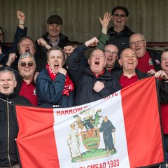 HARROW BOROUGH v Burgess Hill, Saturday 28th April 2018