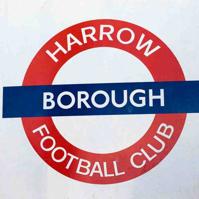 HARROW BOROUGH v Farnborough, Sturday 1st December 2018