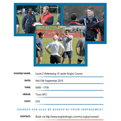 Refereeing Course
