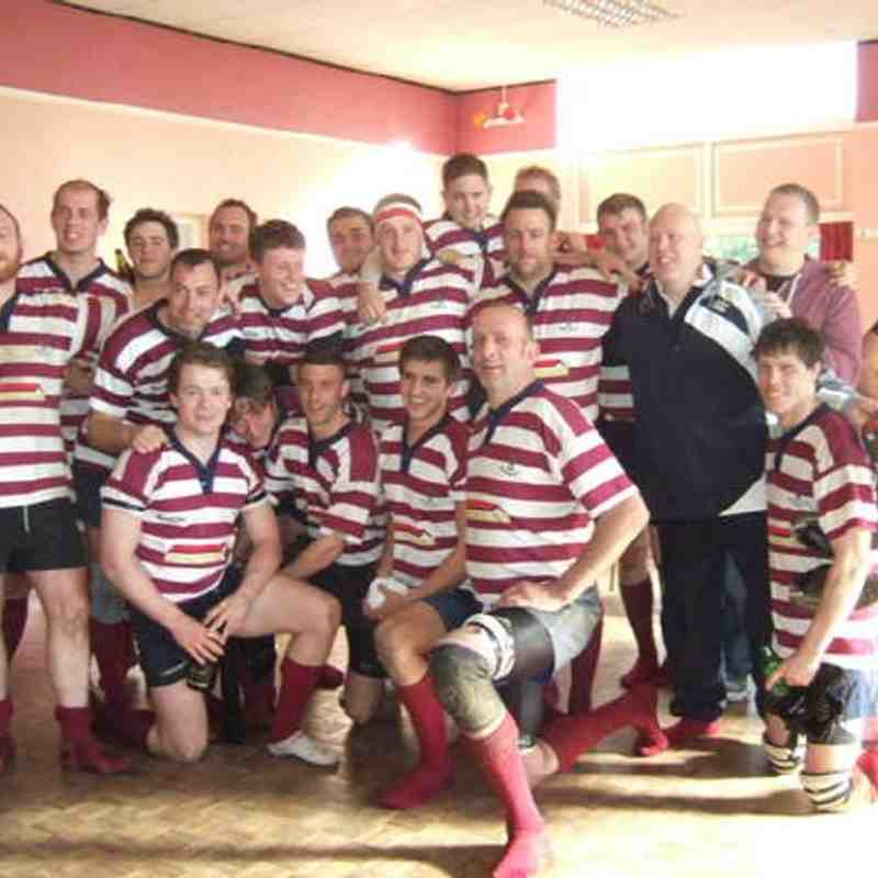 Welwyn 2nd XV Merit Table 2 Cup/ League Champions
