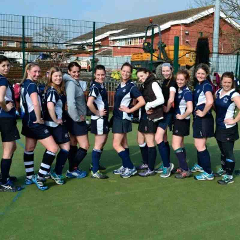 Ladies 3s V 4s - A friendly league game…if there is such a thing!