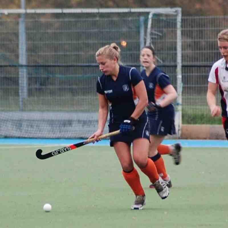 Ladies 1s V Exeter - 2-0 win
