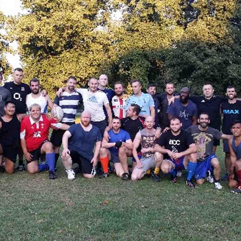 Training - 6 August 2014 - Calthorpe Park