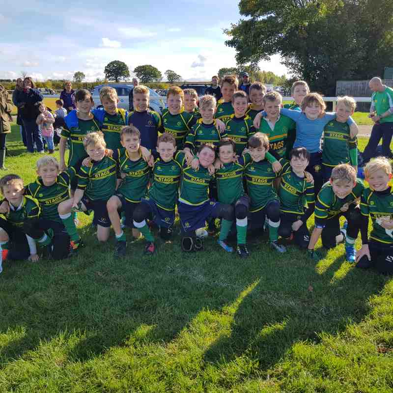 Stags U10s home versus Newmarket 2017-10-08