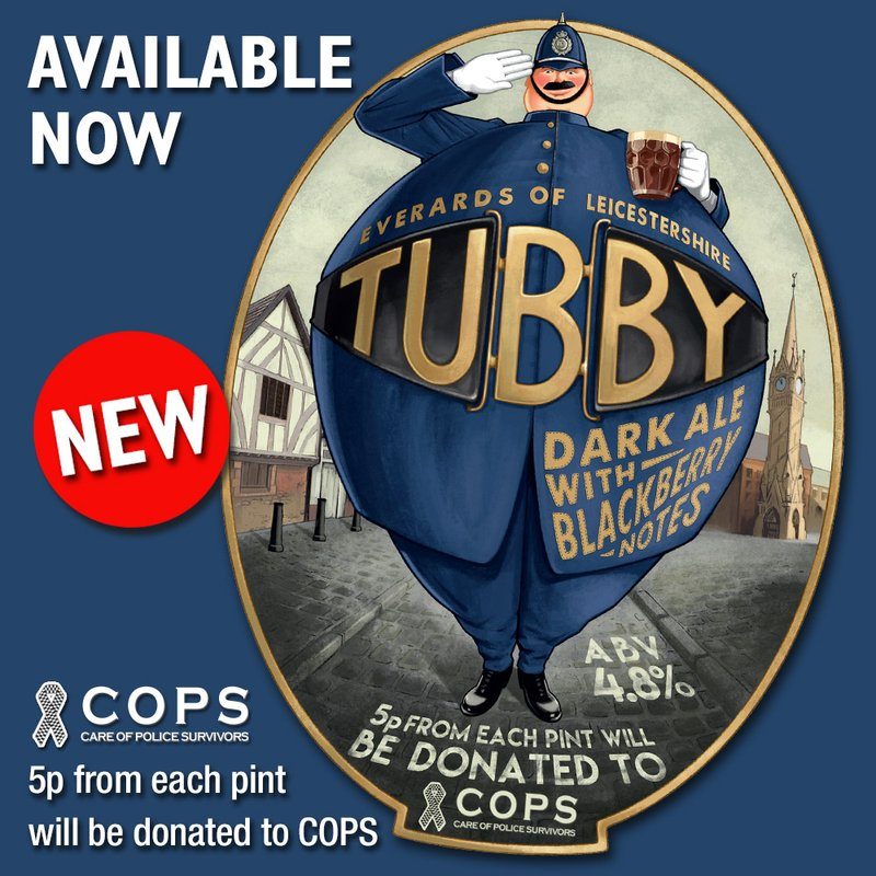 PINT OF TUBBY ANYONE?