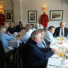 VP's Lunch Sat 28th @ the Castle Hotel